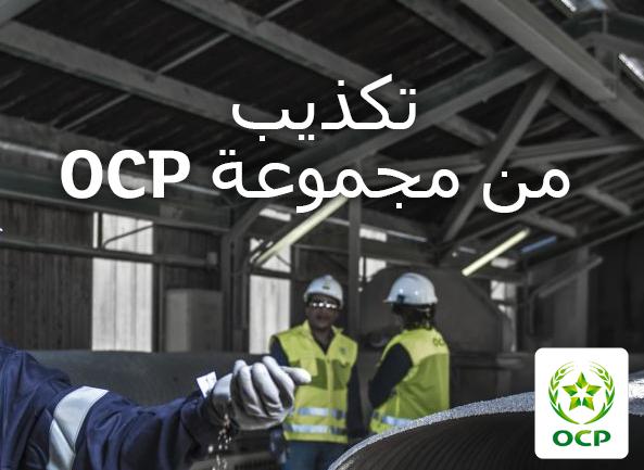 مجموعة OCP تنفي نشر أي إعلان متعلق بحملة للتوظيف