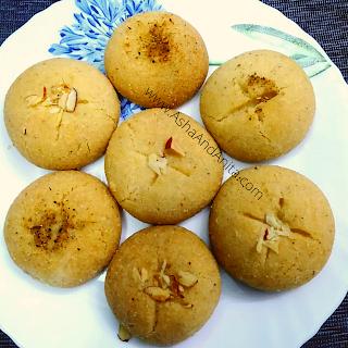 Nankhatai Recipe Eggless Indian Cookies  Hindi नानखटाई रेसिपी