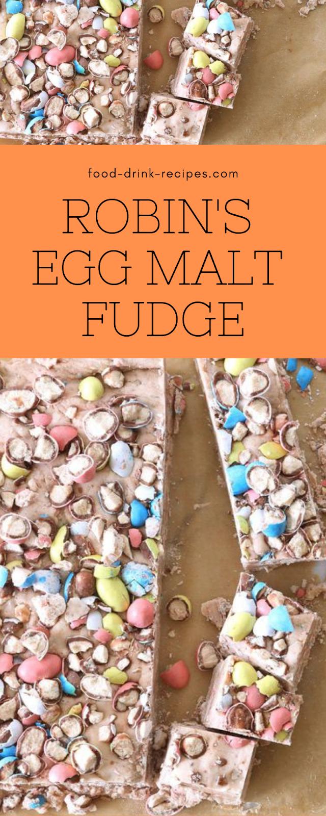 Robin's Egg Malt Fudge - food-drink-recipes.com