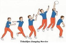 Cara Melakukan Jumping Service Bola Voli Yang Benar