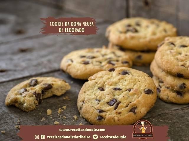 Receita de Cookie da dona Neusa de Eldorado