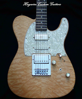image results for a Haywire Custom Guitars Nashville Shredneck Guitar