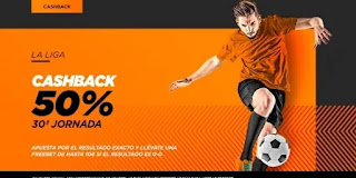kirolbet promo jornada 30 liga 9-11 abril 2021