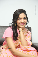 Actress Ritu Varma Pos in Beautiful Pink Anarkali Dress at at Keshava Movie Interview .COM 0315.JPG