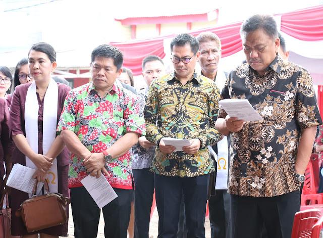 JG Bangga Gubernur Sangat Peduli Pembangunan Rumah Ibadah