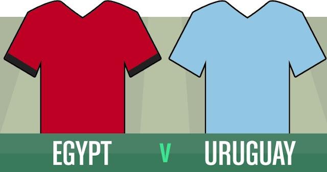 موعد مباراة منتخب مصر الأوروغواي في كأس العالم 2018 والقنوات الناقلة مجاناً لمباراة مصر في كأس العالم