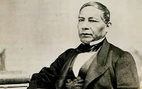 Benito Juárez, président de la république du Mexique
