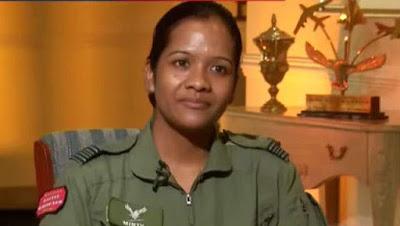 Squadron Leader Minty Agarwal awarded Yudh Seva Medal