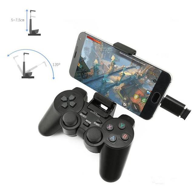 Wireless Gamepad Joystick Gaming Controller for Android