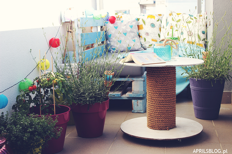 April's blog   uroda, diy, kulinaria, podróże, lifestyle: balkon w ...