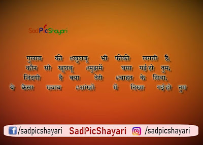 shayari sad in hindi images hd