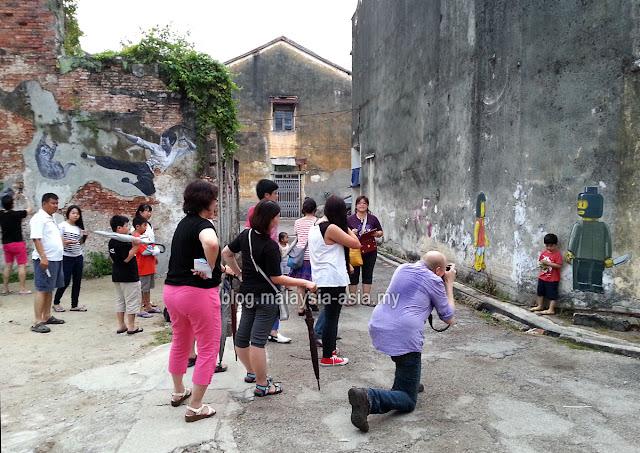 Malaysia Street Art Photos