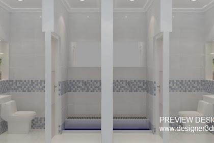 Jasa Design Toilet Kamar Mandi Gedung MPR