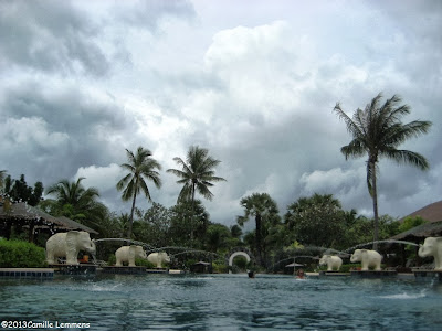 Pool at the Bandara resort