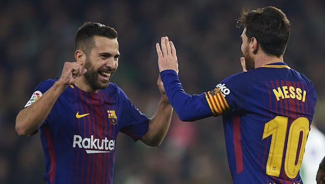 Les trois joueurs voulus par Messi pour suppléer Jordi Alba