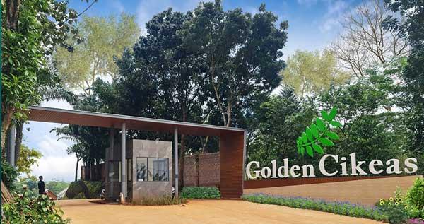 Gerbang Perumahan Golden Cikeas