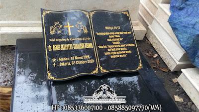 Makam Jumbo Granit Kristen | Model Batu Nisan Kristen Terbaru