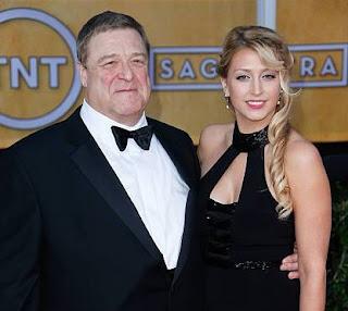 Molly Evangeline Goodman with her father John Goodman