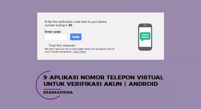 Aplikasi Nomor Telepon Virtual