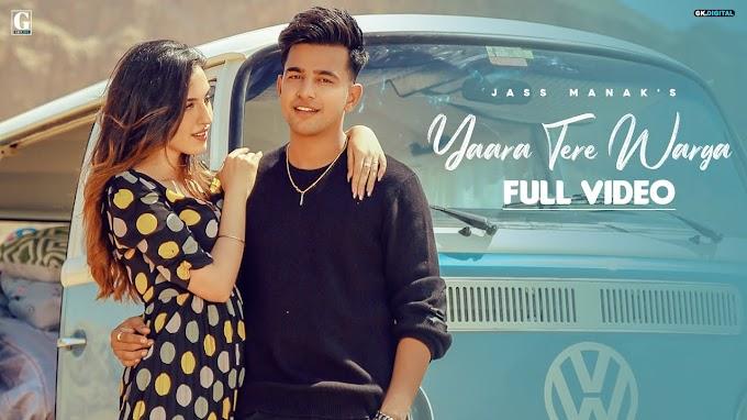Yaara tere warga lyrics-Jass Manak, Sunidhi Chauhan-Punjabi song
