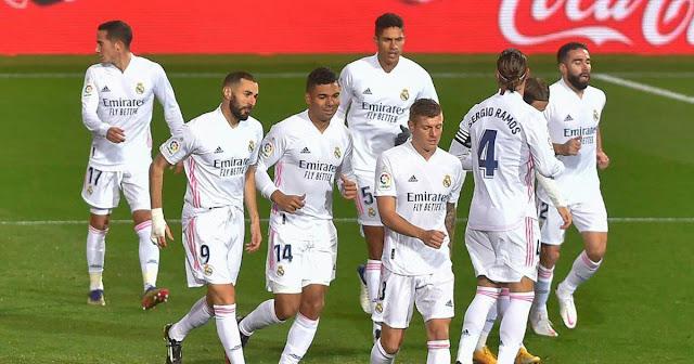 موعد مباراة ريال مدريد وغرناطة في الدوري الإسباني والقناة الناقلة