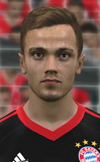 PES 2017 Faces Christian Früchtl by WER