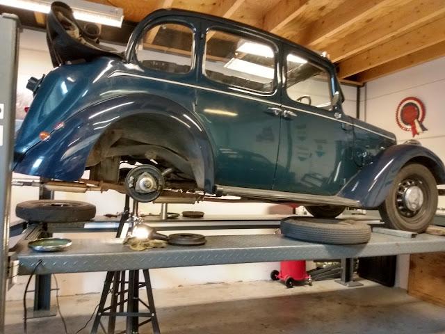 Austin Ten Conway oil change and brake service