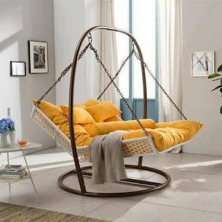 cama hamaca de hierro