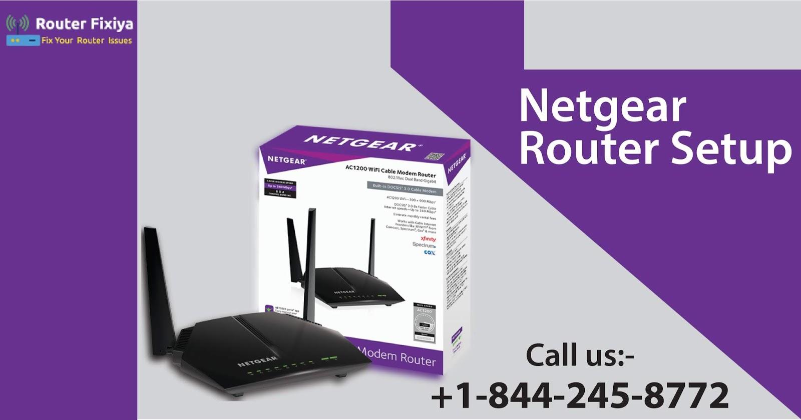 Netgear Router Support number- +1-844-245-8772: Netgear