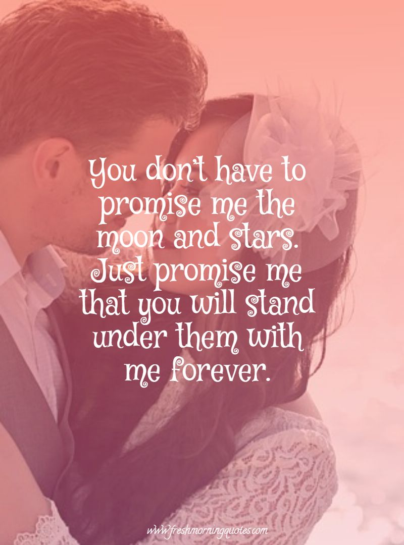 you dont have to promise me quotes