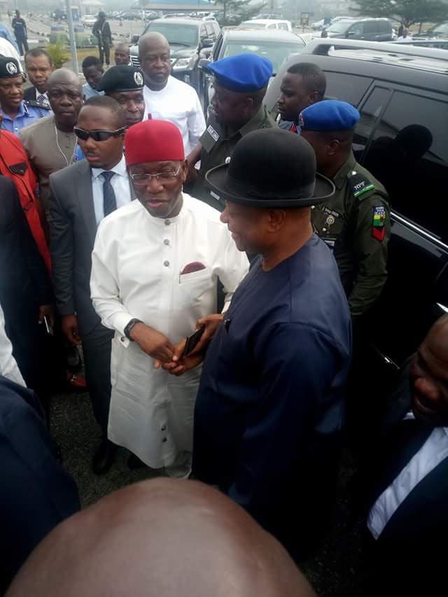 Photos: Osinbanjo arrives Delta State for militancy dialogue