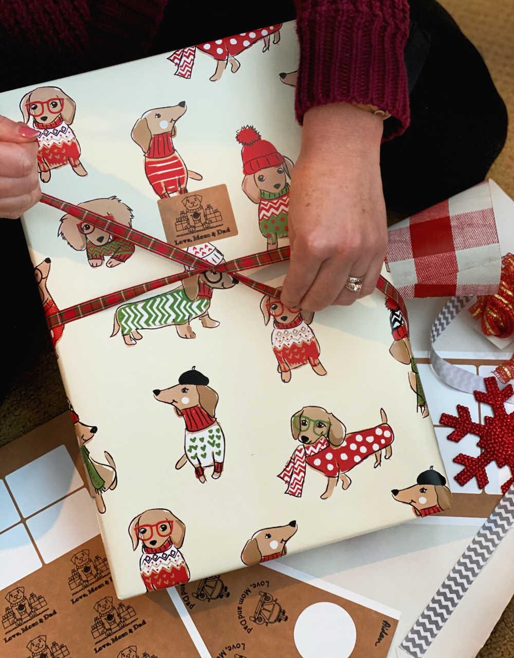 cricut joy smart label christmas gift labels