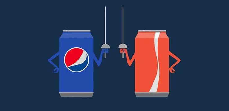 Компания Пепси и Coca-cola