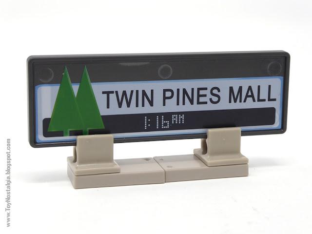 Cartel TWIN PINES MALL Playmobil Regreso al Futuro - Calendario de Adviento (Playmobil Back To The Future - Calendario de Adviento)