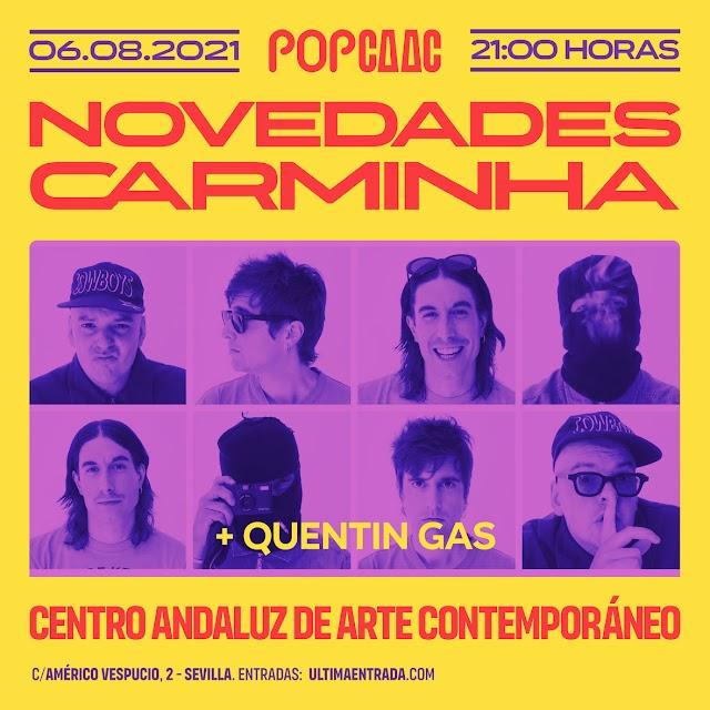 Pop CAAC | Novedades Carminha y Quentin Gas - CAAC (10/06/2021)