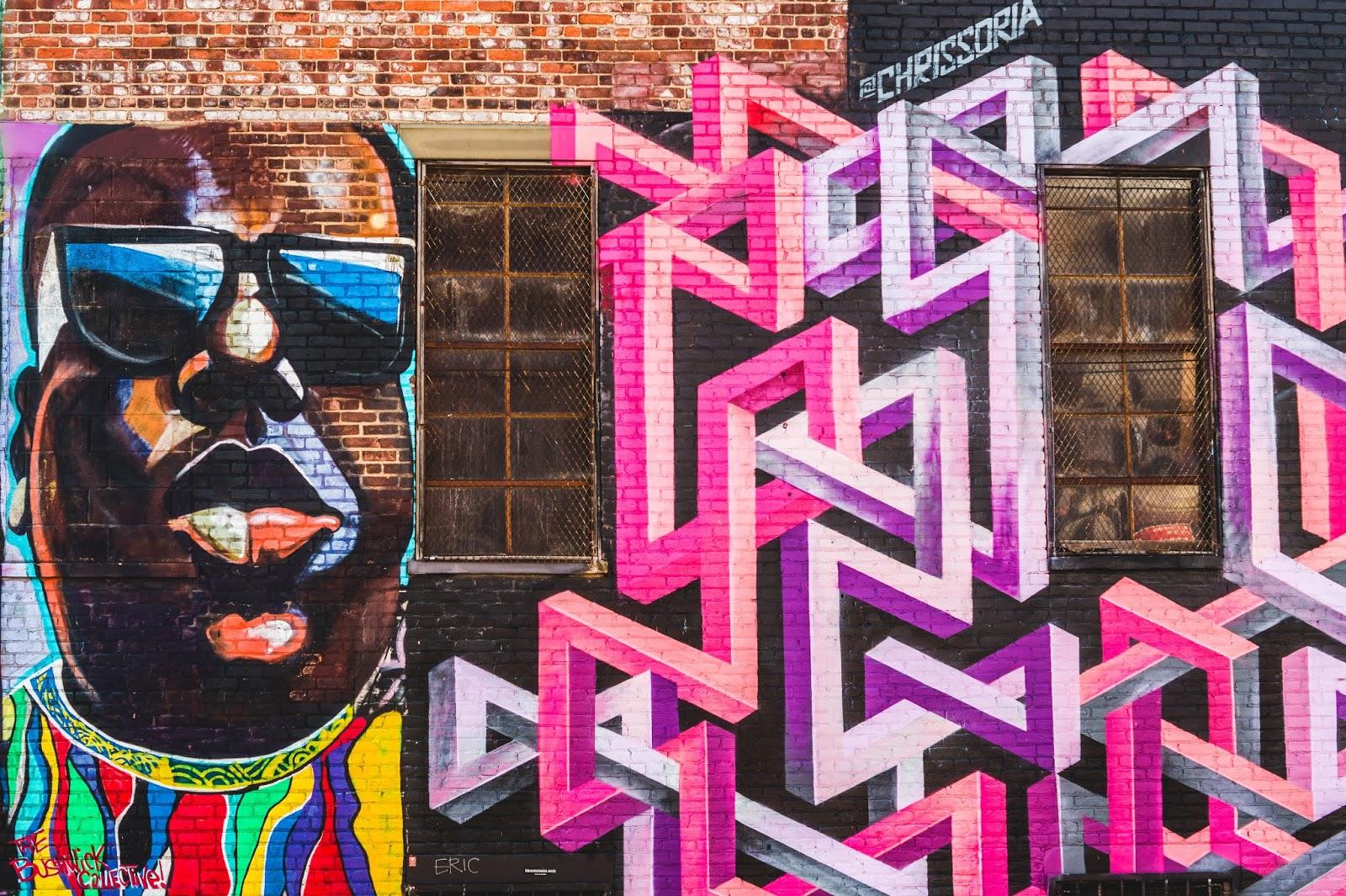 quartier street art Bushwick new york