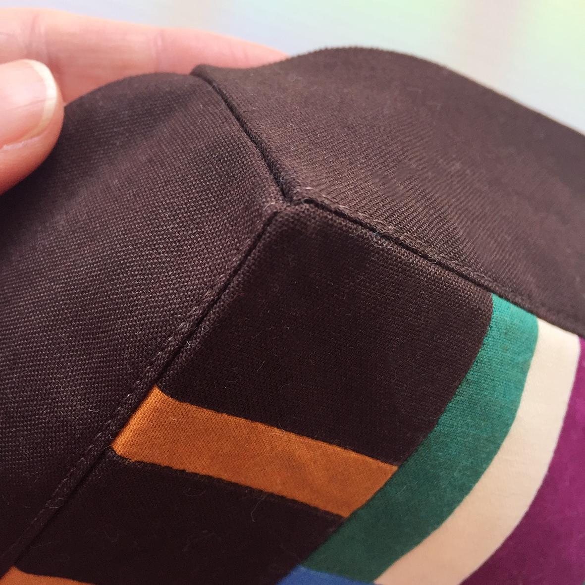 sewn corners