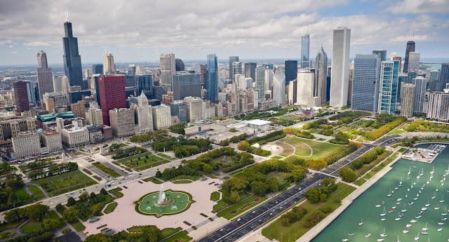 Zwiedzanie Chicago <br> (część 1- wersja jednodniowa)