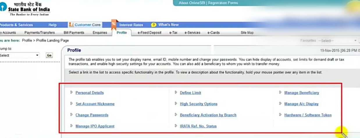 how to update mobile number in sbi bank atm