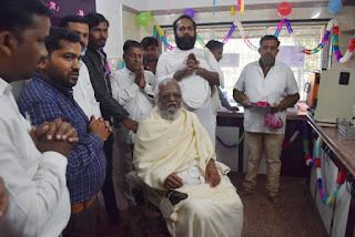 श्री मोहनखेड़ा महातीर्थ में मकर संक्रांति पर आचार्यश्री की महामांगलिक का हुआ आयोजन