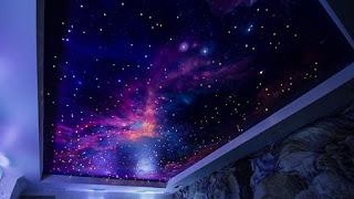 Натяжные потолки звездное небо Курганинск Лабинск