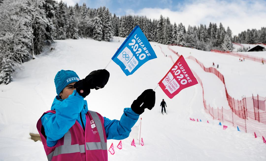 Primeiro evento olímpico do ano: Lausanne 2020