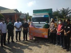 Wakil Bupati Muaro Jambi Hadiri Pergeseran Logistik PSU dari KPU ke-59 TPS