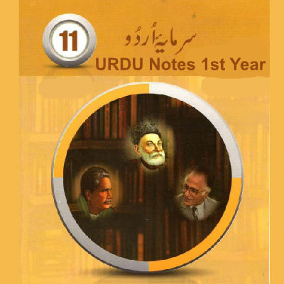 1st Year Urdu Notes Punjab Board Download - Easy MCQs
