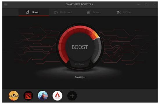 Smart Game Booster 4.1.2.3279 - Tăng tốc máy tính khi chơi game