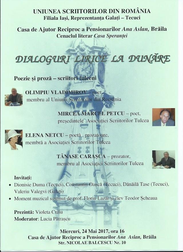 Dialoguri lirice la Dunare