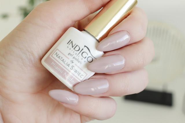 lakier hybrydowy blog hola paola lakiery paznokcie hybryda nowa kolekcja nude cielisty beżowy kolor nowość długie paznokcie jak zapuścić miami nude miami 2017 indigo semilac neonail