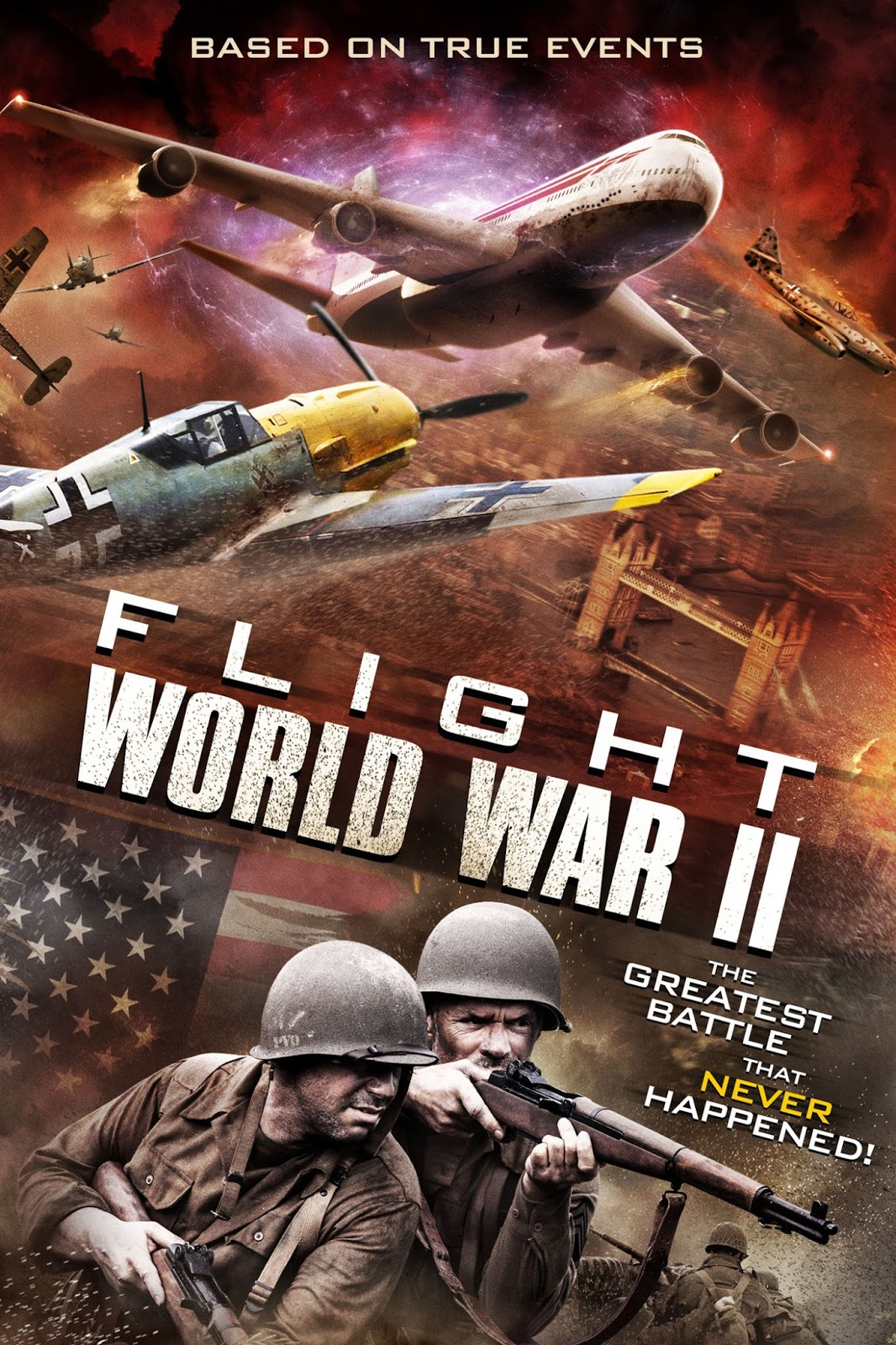 Flight World War II เที่ยวบินวฝูงสงคราม [HD][พากย์ไทย]