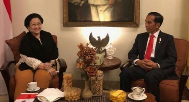 Megawati Soekarno Putri dan Presiden Joko Widodo