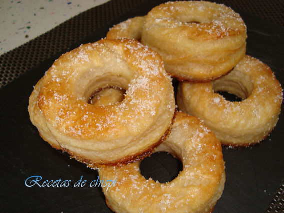 Donuts de hojaldre 2